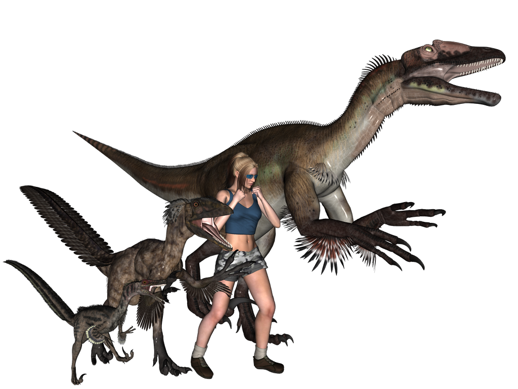 Raptor and Human Scale