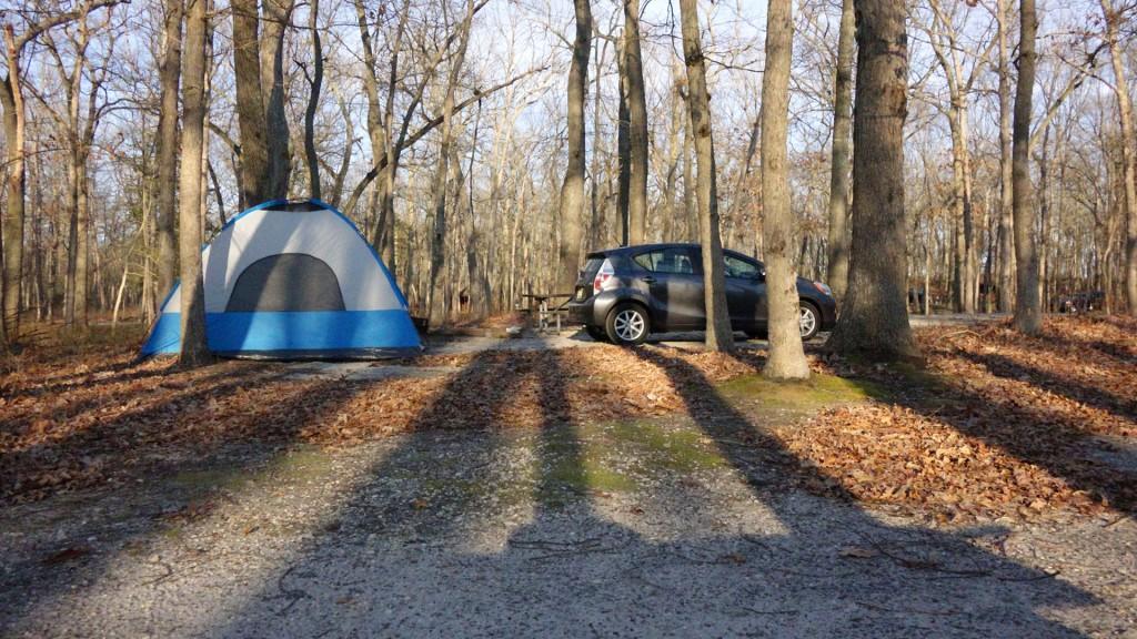 Prius c Camping